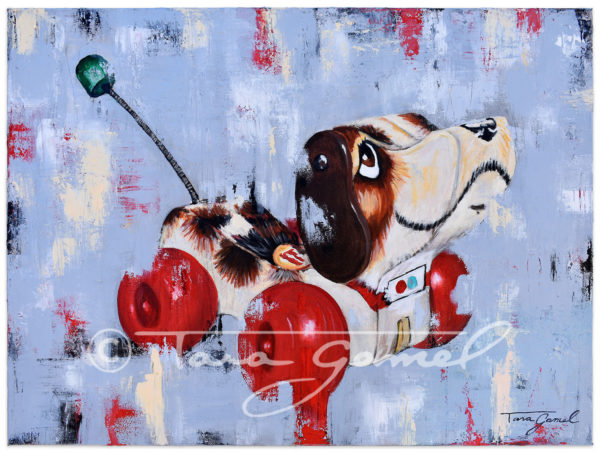 """Puppy Love   24""""x18""""   Oil on CanvasCLICK HERE TO PURCHASE"""