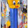 "My Latest Tweet | 12""x24"" | Oil on Canvas"