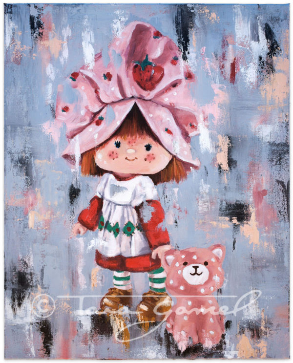 "Strawberry Dreams | 16""x20"" 